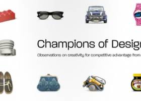 Champions of Design – Observations on creativity for competitive advantage