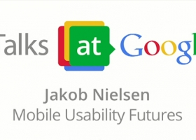Jakob Nielsen: Mobile Usability Futures – Usability expert at Google Talks (Lecture)