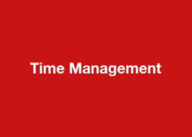 Randy Pausch Lecture: Time Management – how you can get the most out of your time
