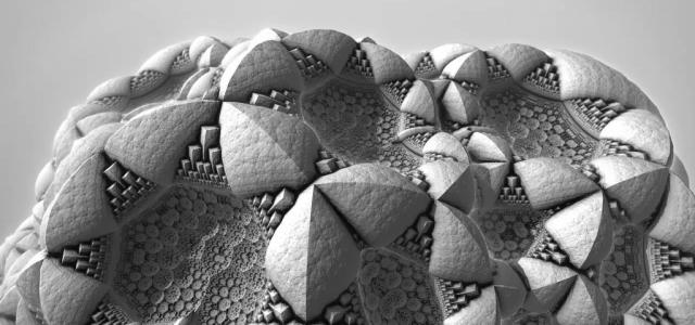 Surface detail – A myriad of details in an evolving fractal landscape