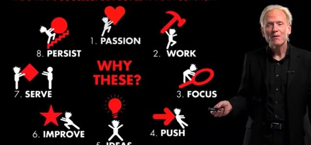8 traits of successful people – Richard St. John | 8 отличителни качества на успешните хора