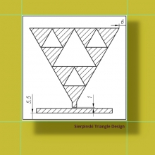Конфигурация - триъгълник на Серпински
