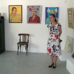 Откриване на изложбата